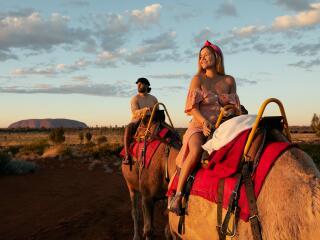 Camel to Sunrise - Tourism NT - Matt Cherubino