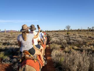 Camel Tour - Tourism NT Rhett Hammerton