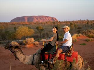 Take a camel to Sunset - Tourism NT - Rhett Hammerton