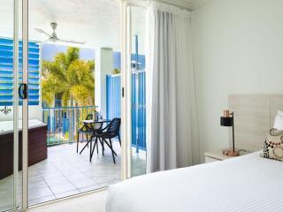 Hotel Balcony Spa Room
