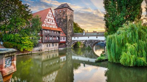 Viking Nuremberg Germany Hangmans Bridge