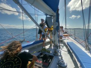Southern Cross - Hoisting Sails