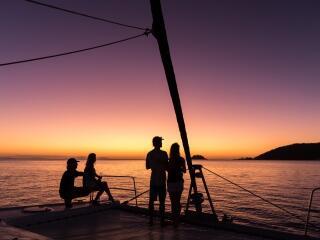 Whitsunday Getaway sunset