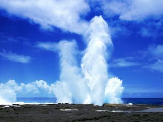 Saviia Island Southern Tour - Alofaaga Blowholes