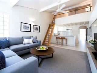 1 Bedroom Beachfront Loft Apartment