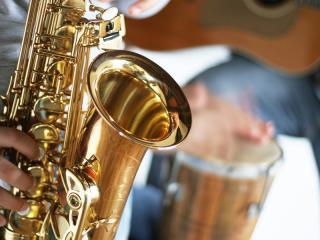 Jazz Festival and Saxophone