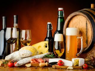 Wine, Beer & Food