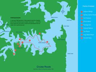 CruiseSmart Sightseeing Route Map