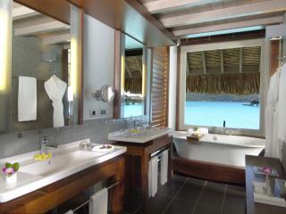 Overwater Bungalow Bathroom