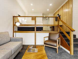 Split Level King Room