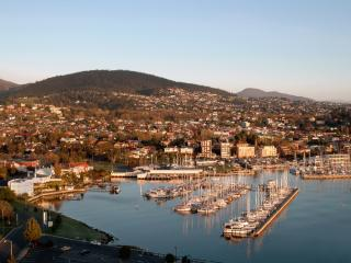 Mouth of the Derwent River - Hobart Harbour
