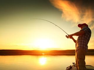 Thailand Fishing on Lake