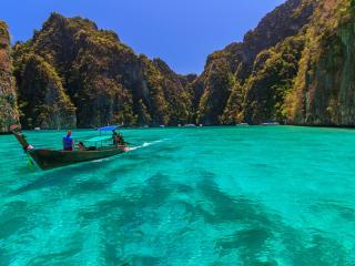Phi Phi, Phi Phi Islands, Boat, Thailand,