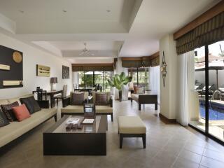 3 Bedroom Villa Living