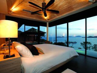 Pool Villa master bedroom