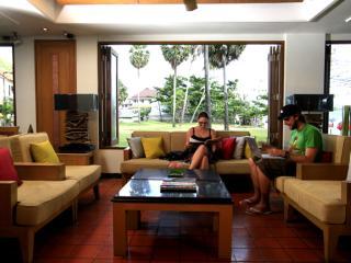 Resort lounge area