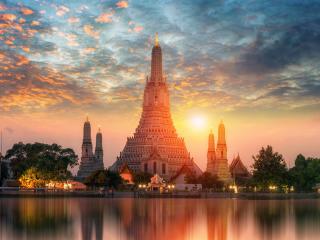 Wat Arun Temple, Temple, Bangkok, Temple, Religion, Culture