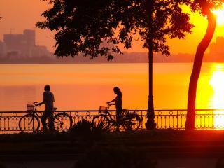 Vietnam_Saigon Sunset