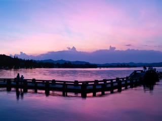 China_Hangzhou West Lake Evening