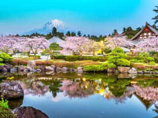 Fujinomiya Shizuoka Japan Mt Fuji