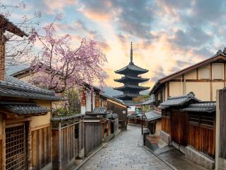 Japan_Kyoto_Yasaka Pagoda and Sannen Zaka Street Kyoto