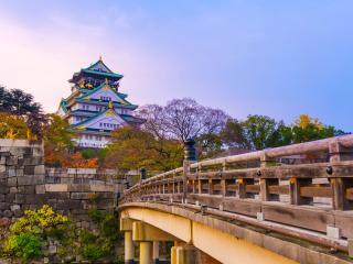 Oaska Castle Japan