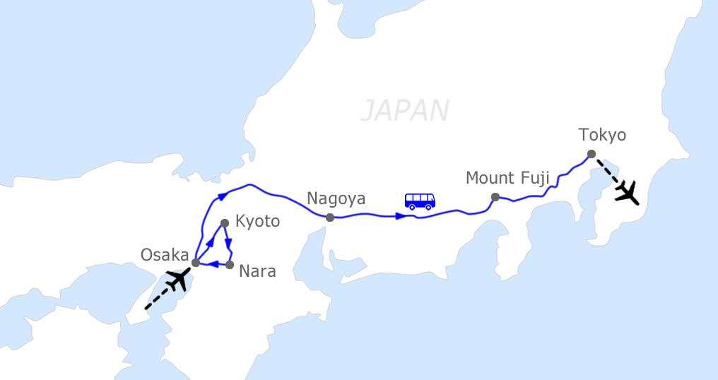 Japan Tour package