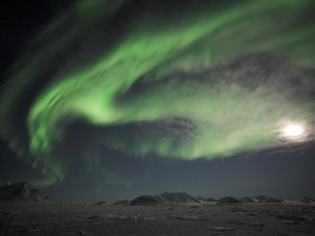 The Southern Lights by Flight