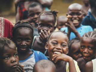 Smiling Africcan Children