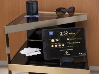 In-room iPads