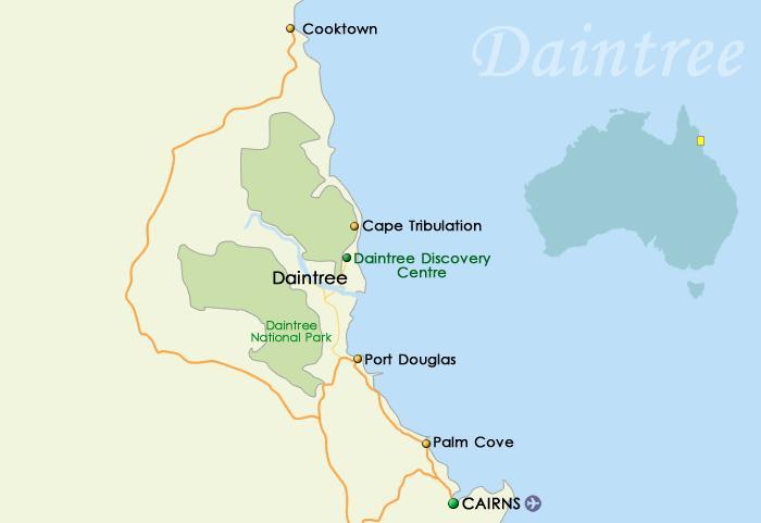 Daintree Map