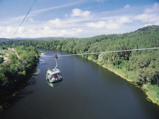 Skyrail over barron river