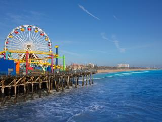 Santa Monica Pier Ferris Wheel Los Angeles