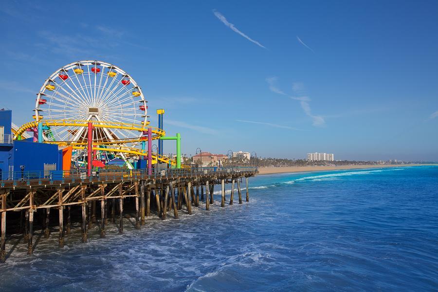 Santa Monica Pier Los Angeles Santa Monica Beach