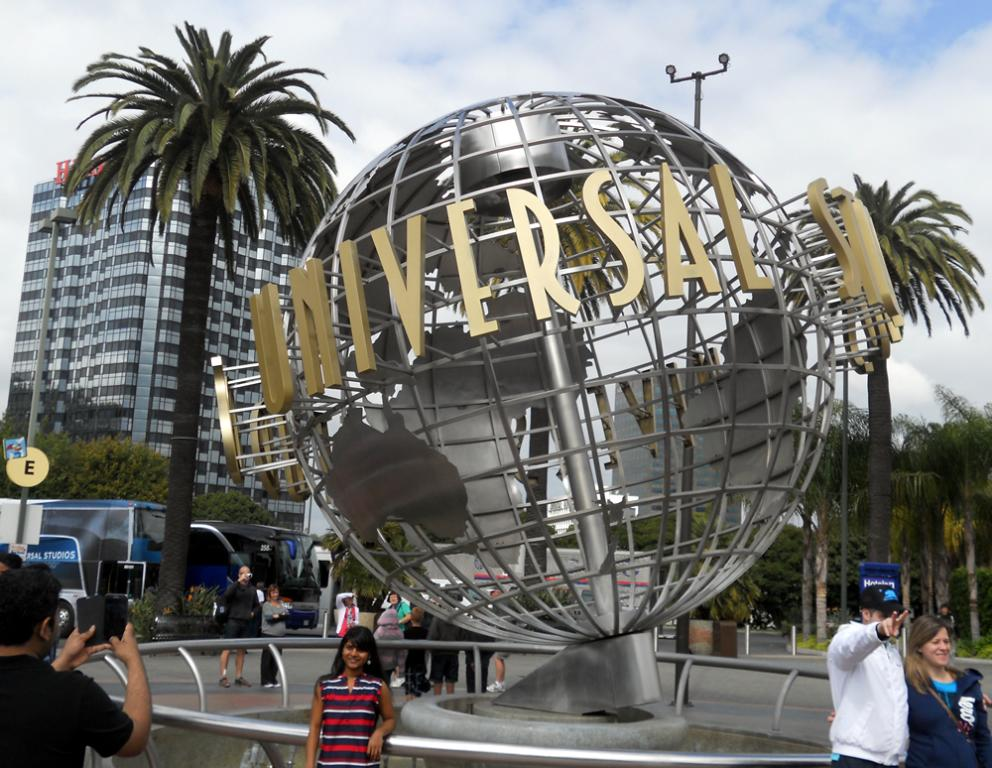 Universal Studios In Hollywood Movie Theme Park Los Angeles