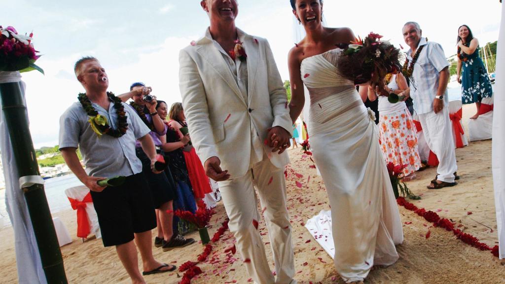 Iririki Island Resort Wedding