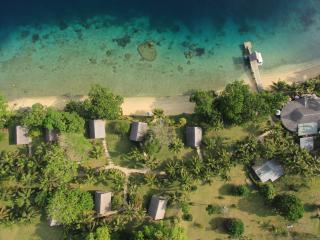 Aore Island - overhead view