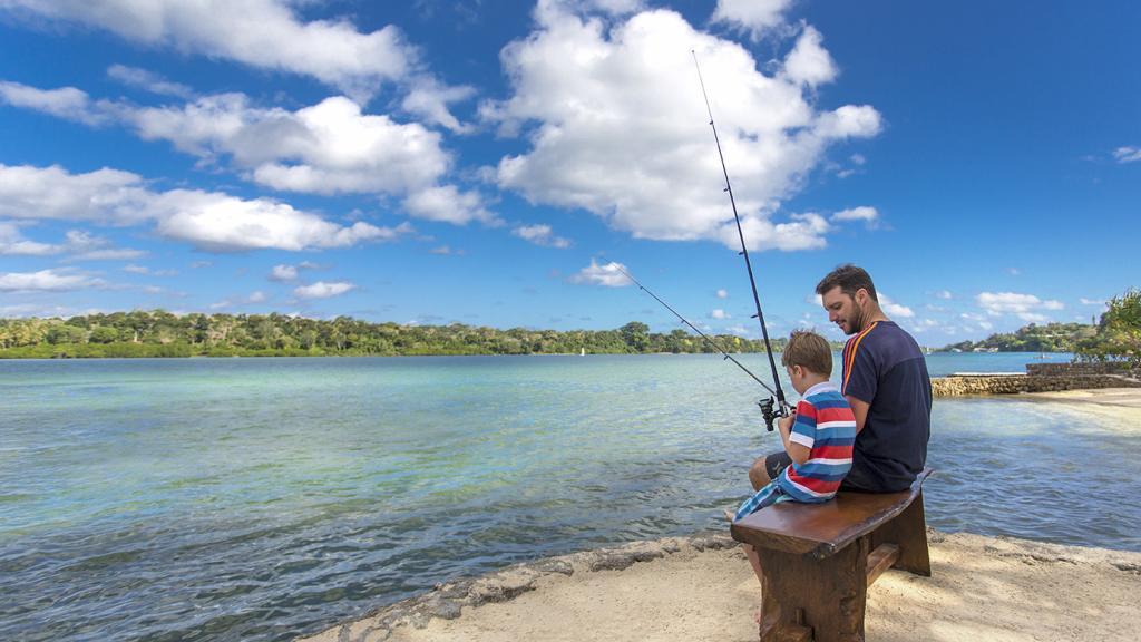 Fishing on Poppys Beach