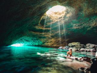 Tanna - Blue Cave 2