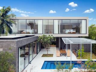 3 Bedroom Garden Pool Villa