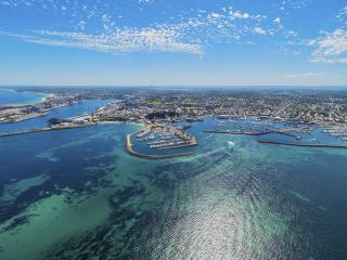 Aerial view of Fremantle - Tourism Western Australia