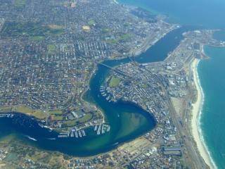 Fremantle Aerial View